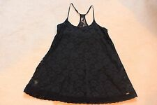 Abercrombie girls navy lace dress size XL NWOT