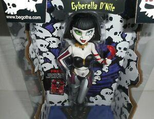 Cyberella D'Nile Goths Bleeding Edge 7 inch Series 4  Begoths Brand New Doll