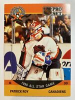 1990-91 Pro Set All Star - PATRICK ROY #359 Montreal Canadiens