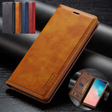 For Samsung Galaxy S20 Ultra S10 Plus Note 9 S8 Leather Wallet Phone Case Cover