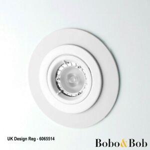 White Downlight Spotlight Surround - Bezel Converter -11 Sizes - 3mm Acrylic