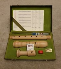 Moeck Rottenburgh alto recorder in pale maple wood