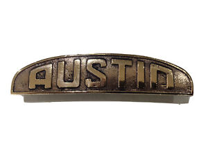 Vintage Bronze Austin Badge Gypsy, Firefly?