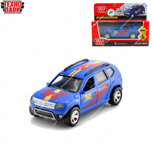 Tehnopark Diecast Vehicles Renault Duster Sport Russian Toy Cars 12 cm