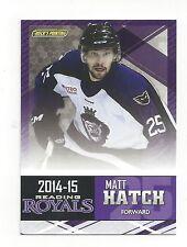 2014-15 Reading Royals (ECHL) Matt Hatch (Florida Everblades)