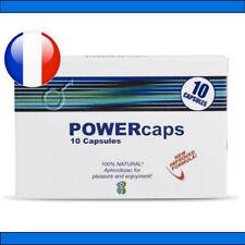 PowerCaps® 10 gélules stimulant sexuel aphrodisiaque VIAMAX POWER TABS POWERTABS