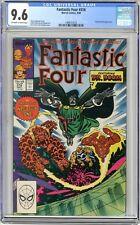 Fantastic Four  #318  CGC  9.6   NM+  Off -wht- wht pgs  9/88   Doctor Doom App.