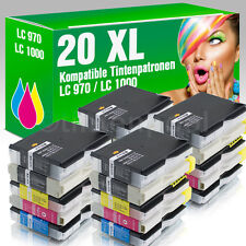 20 Druckerpatronen für Brother LC1000 DCP 357 C