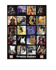 Mel Bay 20311 Graphic Guitars Poster with Free Shipping