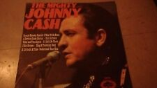 "THE MIGHTY JOHNNY CASH UK 1971 HALLMARK RECORDS 12"" LP SHM 804"
