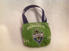 "Seattle Sounders Purse Bag American Girl 14"" Wellie Wishers/18"" doll clothes"