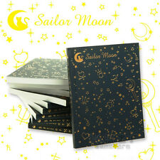 Sailor Moon Logo Crystal Diary Journal Notebook Notepad Anime Cosplay Memo Gift
