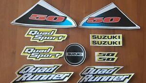 SUZUKI LT50 DECALS GRAPHICS STICKERS FULL SET  a1