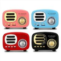 Retro HIFI Wireless Bluetooth Speaker Mini Portable Fm Radio TF Card U Disk hot