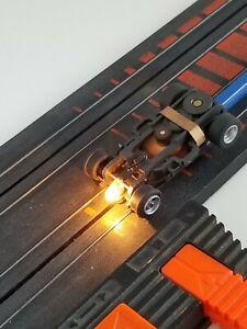 AFX AURORA MAGNATRACTION LIGHTED VINTAGE HO SLOT CAR CHASSIS ONLY