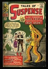 Tales Of Suspense #45 VG 4.0 1st Pepper Potts and Happy Hogan! Iron Man