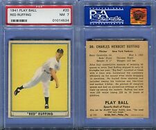 1941 PLAY BALL #20 CHARLES RED RUFFING PSA 7 (4534)