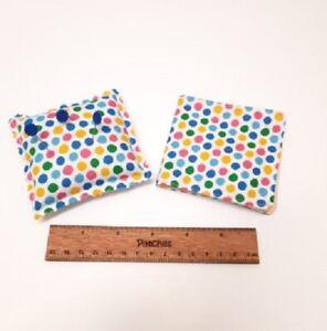 Handmade Matching Pin Cushion & Needle Case Set Sewing Sew Fabric Lockdown Gift