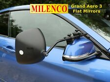 Milenco Grand Aero 3 FLAT Towing Mirrors - Complete with FREE Storage Bag