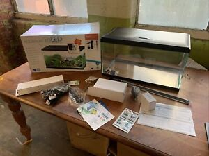 Ciano 58 Litre Aquarium with 60 LED Light, Heater and CF80 Filter , New !