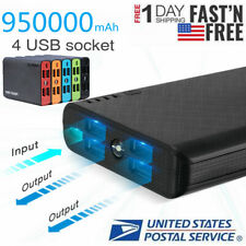 New listing 4Usb Power Bank 950000mAh New Battery Portable External Charger Fr Cell Phone Us