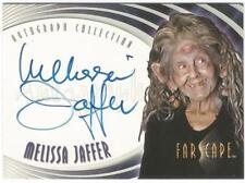 Farscape Season 4 Auto Autograph Card A23 Melissa Jaffer as Noranti