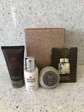 MOLTON BROWN LADIES GIFT SET PINK PEPPERPOD GINGERLILY SOAP BNIB