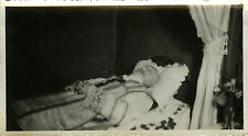 PHOTO ANCIENNE - VINTAGE SNAPSHOT - HOMME MORT POST MORTEM DÉFUNT - MAN DEAD