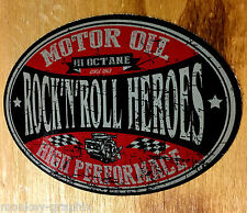 Motor OIL Rockabilly oldschool Aufkleber Sticker Octane USA Hot Rod Decal Muscle