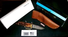 Schrade PH2 Knife Sambar Stag Herman Williams 2016 W/Packaging & Paperwork Rare