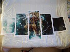 5 toiles imprimées Dragon Ball Z Goku