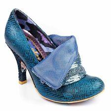 """Irregular Choice """"Flick Flack"""" (DG) AZUL Zapatos de Alto Tacón Stiletto EU 36/UK 3.5"""