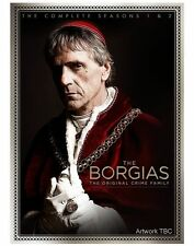THE BORGIAS COMPLETE SEASON 1+2- BRAND NEW AND SEALED- DVD R2
