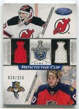 2012-13 Certified Path to the Cup Quarter 42 Theodore Brodeur Dual Jersey 18/250