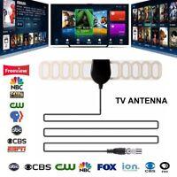 Indoor TV Antenna Digital HDTV Antenna TV Receiver Aerial VHF UHF Surf DVB-T2