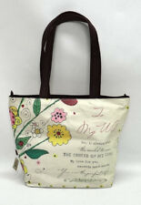 "HAIGHT-ASHBURY COLLECTION ""TO MY WIFE"" FLORAL TOTE BAG - NWT"