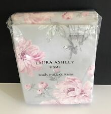 "NUOVO LAURA ASHLEY TENDINE Beatrice CYCLAMEN Rosa 88 ""x 90"" LONG 223cm x 229cm"