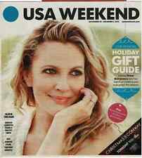 USA Weekend November 29-December 1, 2013 Drew Barrymore Holiday Gift Guide