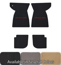 Chevrolet Impala 4pc Classic Loop Floor Mats-Choice of Carpet Color & Logo