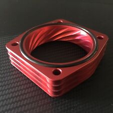 RED Throttle Body Spacer for 2009 - 2014 Nissan MAXIMA  3.5l  v6