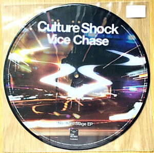 """Culture Shock – Vice Chase / Asteroids 12"""" Vinyl Record RAM Records RAMM66Z"""