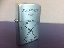 Named Military Rifle Champs Lighter F.E. Warren A.F.B. 1958