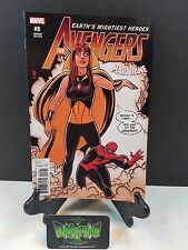 Avengers #8 Mary Jane Variant NM Marvel Comics Vision Captain America Hawkeye