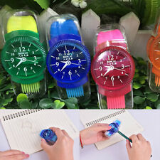 Mixed Novelty School Multi Coloured Wristwatch Shaped Pencil Eraser Sharpen¾Q