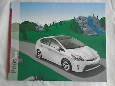 Toyota Prius brochure 2013 USA market
