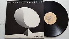 PRIMITIVE MODERNS - In Balance PRIVATE '88 AOR ALT ROCK + Personal Note (LP)