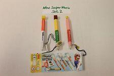 NEW Super Mario Bros DS-Stifte / DS Pens  SET2