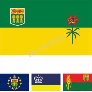 Canada Saskatchewan Flag 3X5 3X6FT Historical 60th Anniversary Regina City