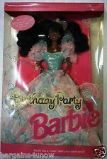1992 Birthday Party barbie African American AA #7948 NRFB