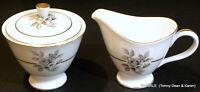 NAGOYA SHOKAI China ENCANTO pattern  ~ Creamer & Lidded Sugar Bowl Set ~ Japan